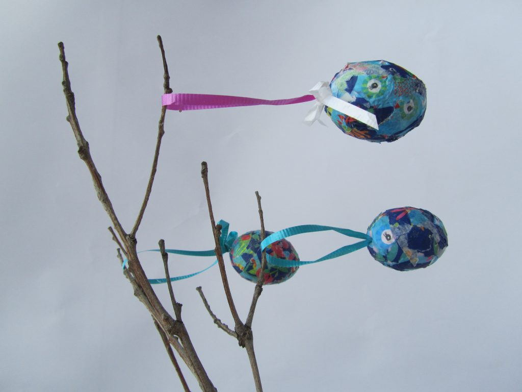 Decoupaged Easter Eggs, Mums Take Five, Happy Nest, NANNY SHECANDO, easter activities for kids