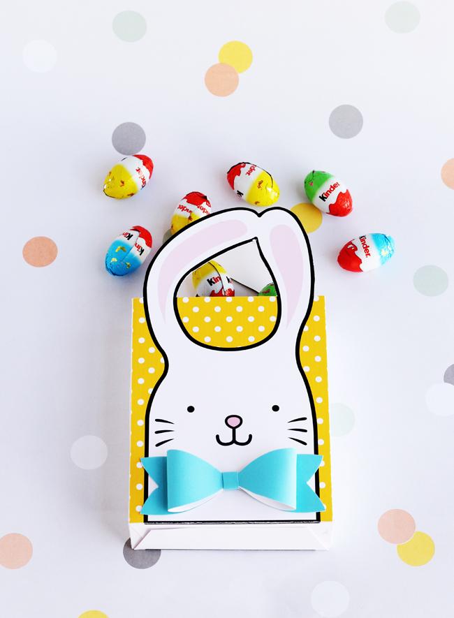 Printable Bunny Bag, Hello Wonderful, Easter activities for kids