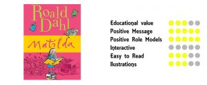 Favourite Kids Books For The Different Ages, Matilda by Roald Dahl