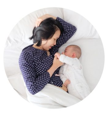 Night nanny breastfeeding support